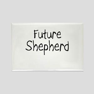 Future Shepherd Rectangle Magnet