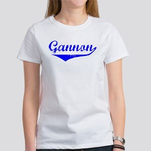 Gannon Vintage (Blue) Women's T-Shirt