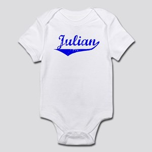Julian Vintage (Blue) Infant Bodysuit