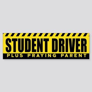Student Driver : Plus Praying Paren Bumper Sticker