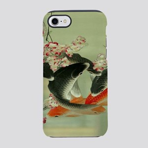 zen japanese koi fish iPhone 8/7 Tough Case