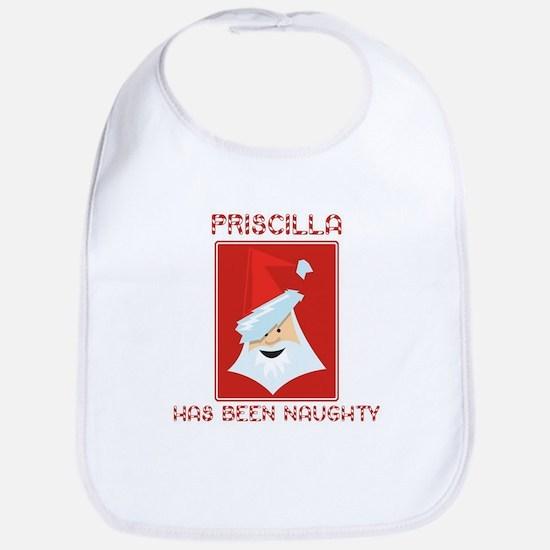 PRISCILLA has been naughty Bib