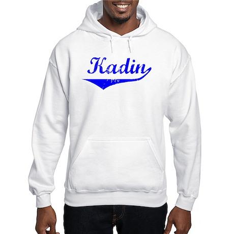 Kadin Vintage (Blue) Hooded Sweatshirt