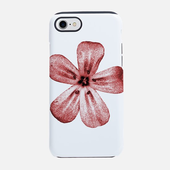red flower iPhone 8/7 Tough Case