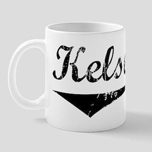 Kelsey Vintage (Black) Mug