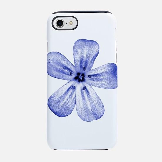 purple flower iPhone 8/7 Tough Case