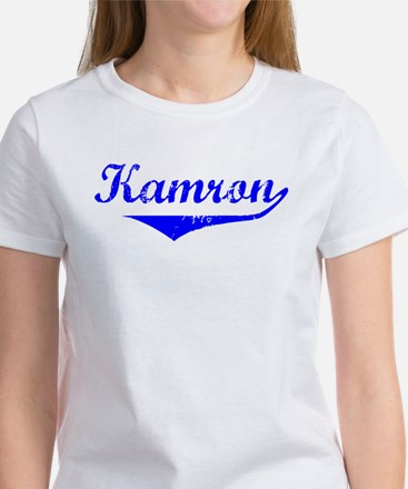 Kamron Vintage (Blue) Women's T-Shirt