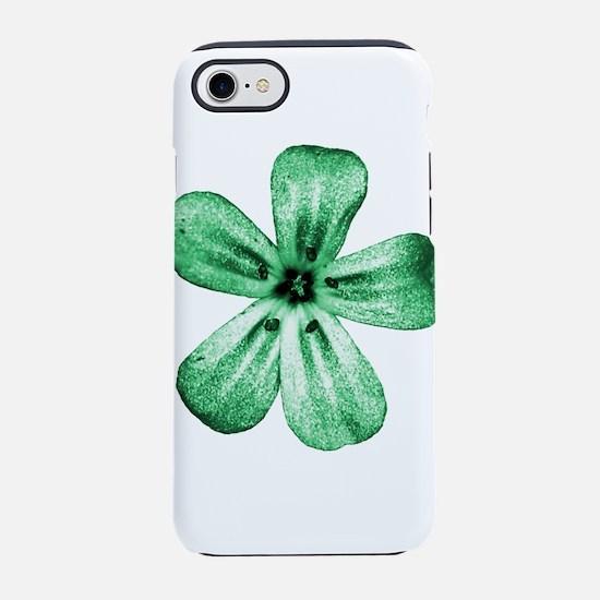 Green flower iPhone 8/7 Tough Case