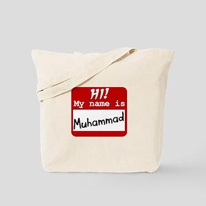 Named Muhammad Tote Bag