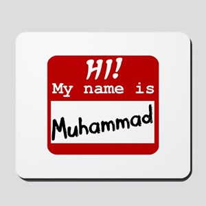Named Muhammad Mousepad