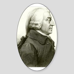 Adam Smith Oval Sticker