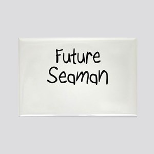 Future Seaman Rectangle Magnet