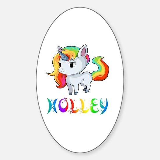 Cute Holley Sticker (Oval)