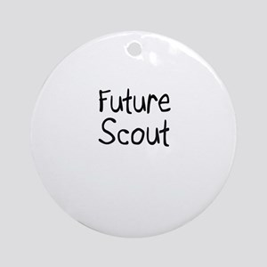 Future Scout Ornament (Round)