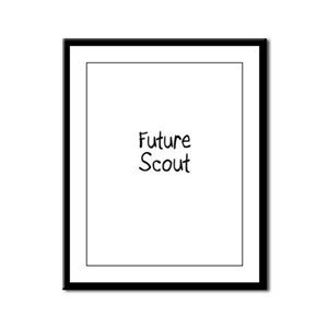 Future Scout Framed Panel Print