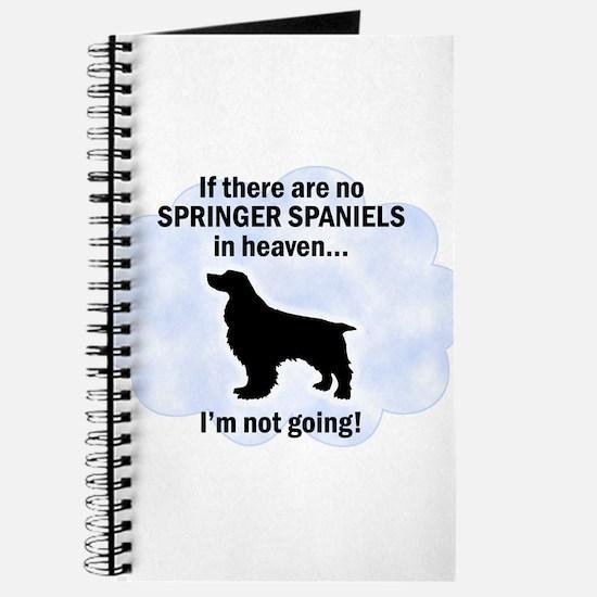 Welsh Springer Spaniels In Heaven Journal