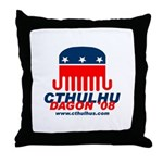 Cthulhu/Dagon'08 Throw Pillow
