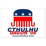 Cthulhu/Dagon'08 Large Poster