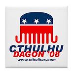 Cthulhu/Dagon'08 Tile Coaster