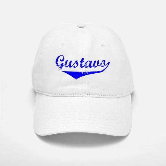 Gustavo Vintage (Blue) Baseball Baseball Cap