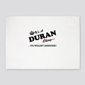 DURAN thing, you wouldn't understan 5'x7'Area Rug