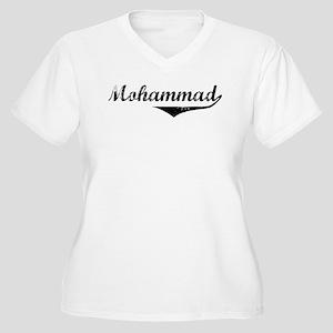 Mohammad Vintage (Black) Women's Plus Size V-Neck