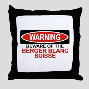 BERGER BLANC SUISSE Throw Pillow