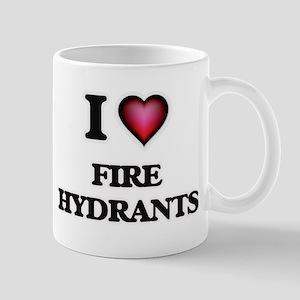 I love Fire Hydrants Mugs