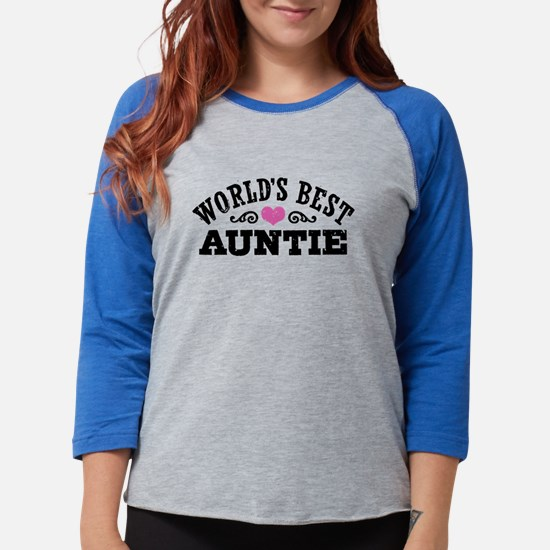 World's Best Auntie Long Sleeve T-Shirt