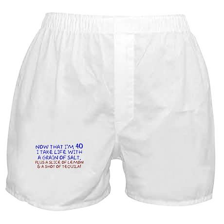 Funny 40th Birthday Boxer Shorts