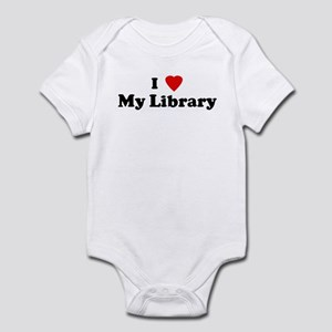 I Love My Library Infant Bodysuit