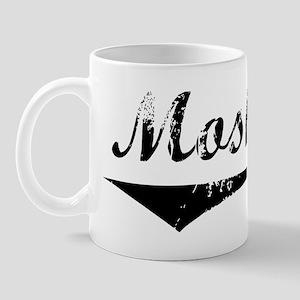 Moshe Vintage (Black) Mug