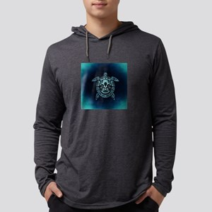 Blue Turtle Long Sleeve T-Shirt