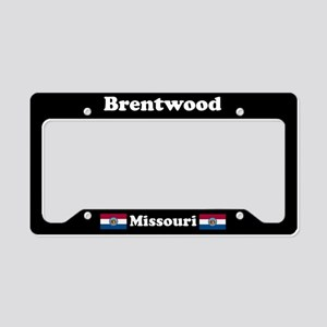 Brentwood MO - LPF License Plate Holder