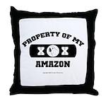 Team Amazon Throw Pillow