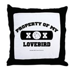 Team Lovebird Throw Pillow
