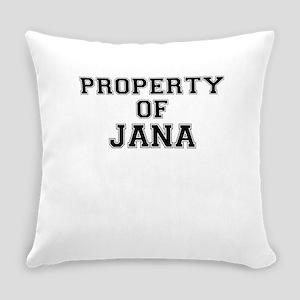 Property of JANA Everyday Pillow