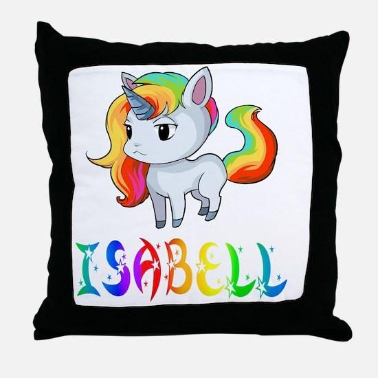 Cute Isabell Throw Pillow