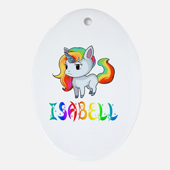 Cute Isabell Oval Ornament