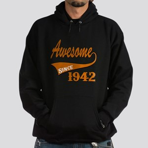 Awesome Since 1937 Birthday Designs Hoodie (dark)