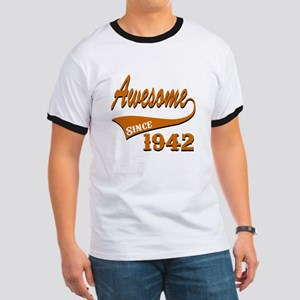 Awesome Since 1937 Birthday Designs Ringer T