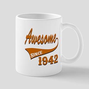 Awesome Since 1937 Birthday Designs Mug