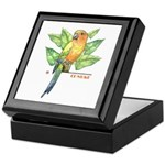 Tropicals Collection Keepsake Box