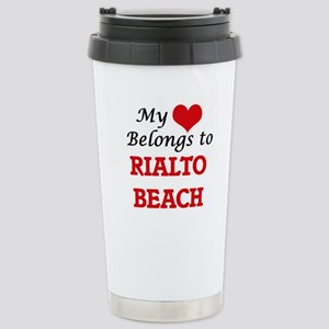 My Heart Belongs to Ria Stainless Steel Travel Mug