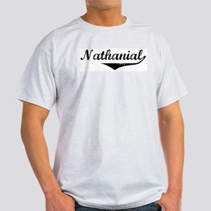 Nathanial Vintage (Black) Light T-Shirt