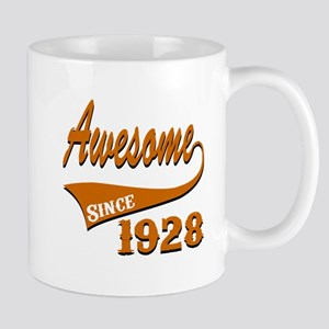 Awesome Since 1928 Birthday Designs Mug