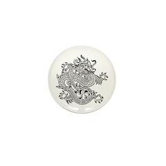 Dragon 9 Mini Button (100 pack)
