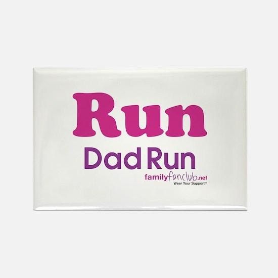 Run Dad Run Rectangle Magnet (10 pack)
