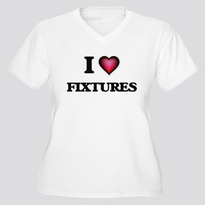 I love Fixtures Plus Size T-Shirt