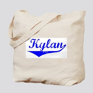 Kylan Vintage (Blue) Tote Bag